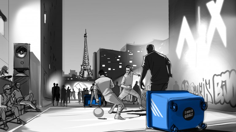 2vs2 Paris grau